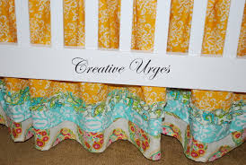 Crib Bed Skirt Diy Diy Or Buy How To Make A Crib Dust Ruffle Or Where To Buy If
