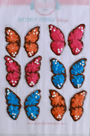 make chocolate butterflies for easy cake decorating bold