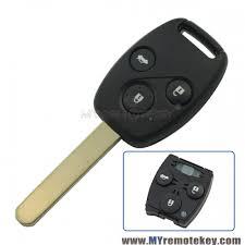 2008 honda accord key remote key vdo 72147 tao w2 433mhz hon66 3 button for honda