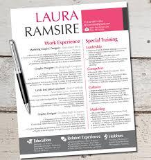 graphic design resume template psd simple graphic design resume template