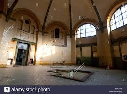 grand bath house in beelitz heilstaetten former tb hospital stock