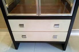 Display Cabinet Furniture Singapore Wooden Cabinet With Glass Display 120