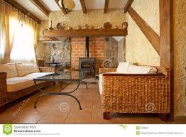 Wohnzimmer Design Mit Kamin Wohnzimmer Mit Kamin Stockfoto Bild 2566300
