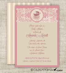 printable vintage baby shower invitations vintage floral rustic