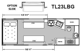 attitude toy hauler floor plans 2013 eclipse attitude tl23lbg travel trailer tucson az freedom rv az