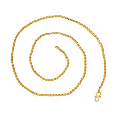 chain necklace design images Buy dzinetrendz brass gold plated wheat chain design chain jpg
