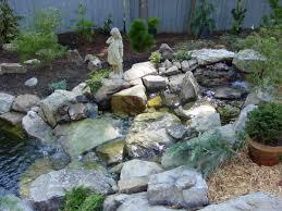 amusing small backyard ponds and waterfalls pics design