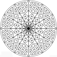 coloring pages geometric design coloring pages on patterns