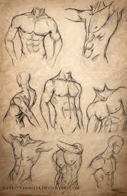 male body sketches by vinnie14 on deviantart drawings
