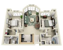 Floor Plan Of An Apartment Floor Plans And Pricing For 2000 Post Apartments San Francisco Ca