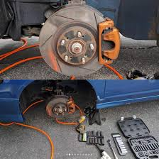 nissan 350z brembo brakes diy easiest way to do a type s to type r brembo brake caliper