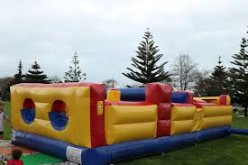 back yard obstacle course neverland castle