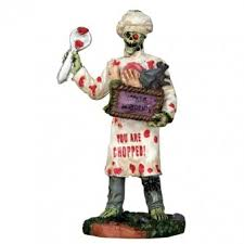 lemax spooky town ghoul chef lemax spooky town figurine spooky town figurines