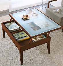 pull up coffee table the most amazing glass lift top coffee table brown modern throughout