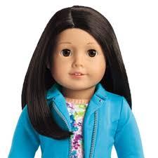 Dark Hair Light Skin Truly Me Doll 25 Light Skin Brown Black Hair Brown Eyes