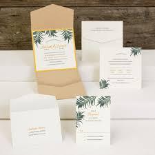 palm tree wedding invitations la papeterie morristown nj wedding invitations