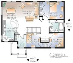 open concept bungalow house plans house plan w3131 detail from drummondhouseplans com