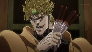 Dio Meme - create meme dio with a knife dio with a knife dio brando