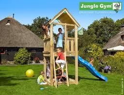 wooden play frame fun play tower gran selección jungle gym