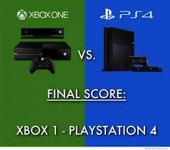 Xbox One Meme - xbox one vs ps4 final score weknowmemes