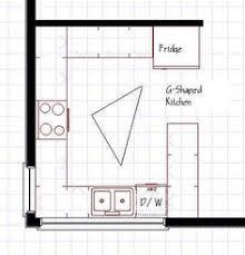 open plan g shaped kitchen layout g shaped kitchen layouts