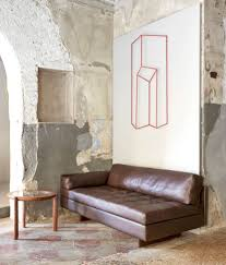 Small Sofa Leather 22 Exles Of Real Leather On Well Designed Furnishings