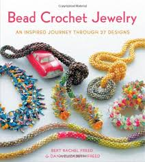 crochet necklace bead images Bead crochet jewelry an inspired journey through 27 designs knit jpg