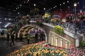 flower show u0027s focus on water lets visitors dive into spring san