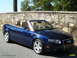 audi a4 2007 convertible 2007 audi a4 2 0t cabriolet in moro blue pearl effect photo 2