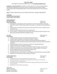 social worker resume exles sle social work resumes paso evolist co