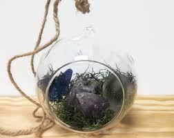 hanging glass globe etsy