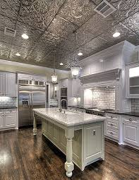 Tin Kitchen Ceiling Tiles Home Decorating Ideas  Interior Design - Tin ceiling backsplash