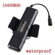 8 4v 10400mah battery pack waterproof for xml t6 led bicycle bike