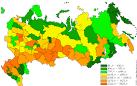 mapa rosji z miastami