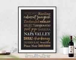 Napa Valley Home Decor Napa Valley Print Etsy