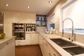 tremendous modern kitchen design with galaxy black granite table