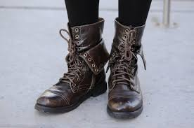 s boots style chic style s boots stock image image of brown
