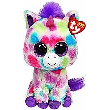 amazon ty beanie boos wishful unicorn plush toys u0026 games