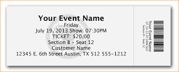 Template For Tickets With Stubs ticket image template oklmindsproutco templates for tickets with