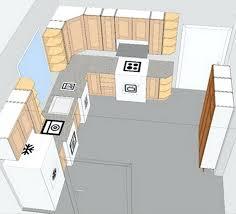 Small U Shaped Kitchen With Island Small U Shaped Kitchen Layouts With Island Layout Plans