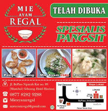 regal cuisine mie ayam regal หน าหล ก