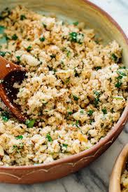 rice cuisine mediterranean cauliflower rice cookie and kate