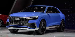 midnight blue maserati audi unveils new plug in electric q8 suv ahead of fully electric