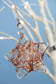 diy wire wrapped ornament