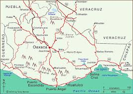 map of oaxaca mexico map of oaxaca state with an introduction to its geography geo