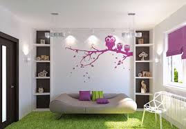 Flower Decoration For Bedroom Flower Designs On Walls Delightful Ideas Paint Bedroom Room With