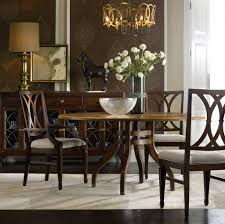 stunning contemporary show house in charlotte n c benefits the palisade 6o inch dining table is paired here with more traditional carved wood