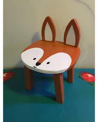find the best savings on fox stool woodland nursery decor orange