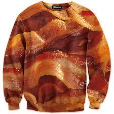 Bacon Strips And Bacon Strips Meme - bacon strips crewneck all over print apparel getonfleek
