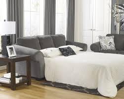 Ashley Makonnen Charcoal Chenilleic Queen Sofa Sleeper Ash